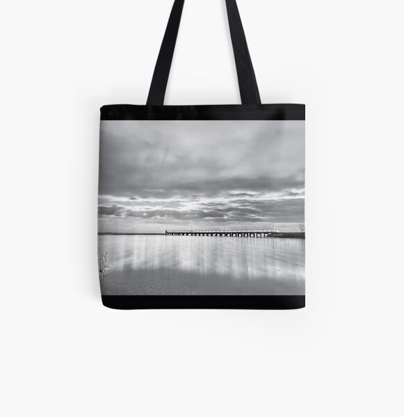 Lake Alexandrina. All Over Print Tote Bag