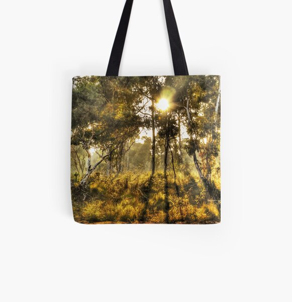 Dawn Light, Hill End All Over Print Tote Bag