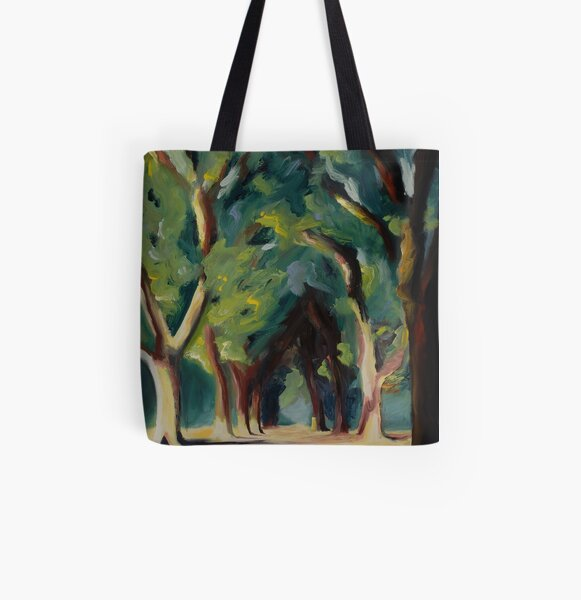Trees (Cathedral I) All Over Print Tote Bag