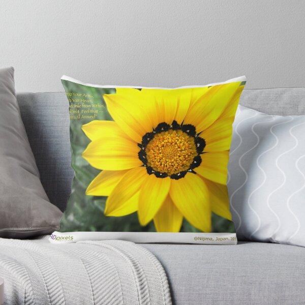 365-013-Niijima-Sunshine Throw Pillow