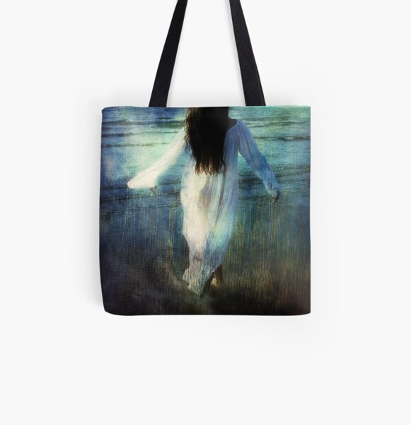 Annabel Lee All Over Print Tote Bag