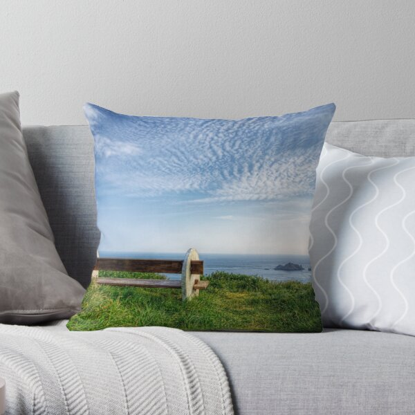 A Seat with a View - Alderney Throw Pillow