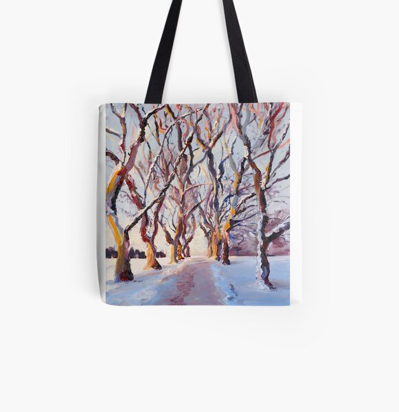 Cathedral II All Over Print Tote Bag