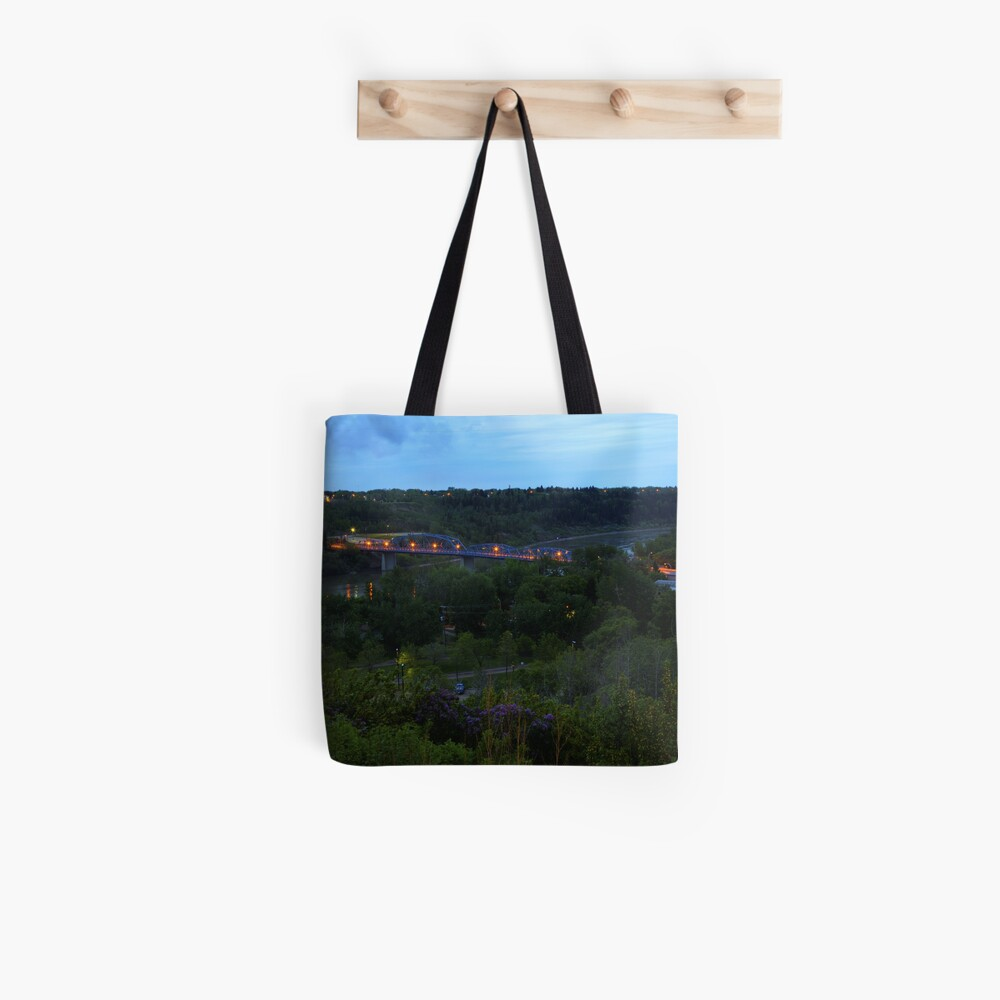 Twilight River Valley Tote Bag