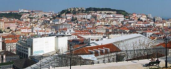 Castelo de Sao Jorge, Lisboa, Portugal by dcordeiro