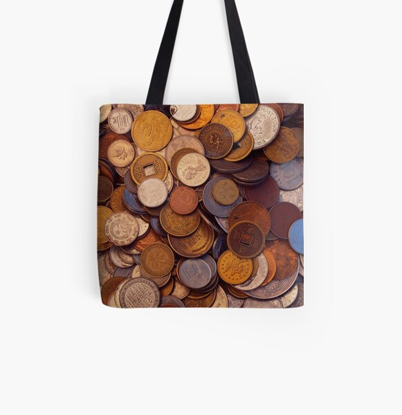 Change for No One All Over Print Tote Bag