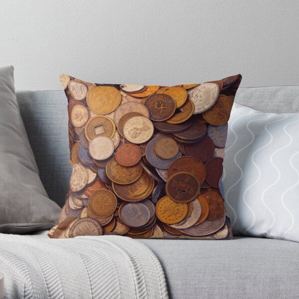 Change for No One Throw Pillow