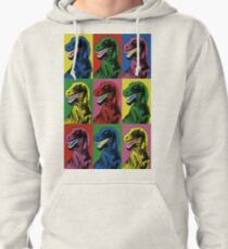 Sudadera con capucha Dinosaur Pop Art