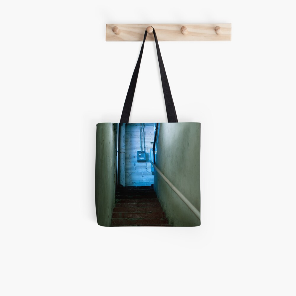 Don't Go Up There! Tote Bag