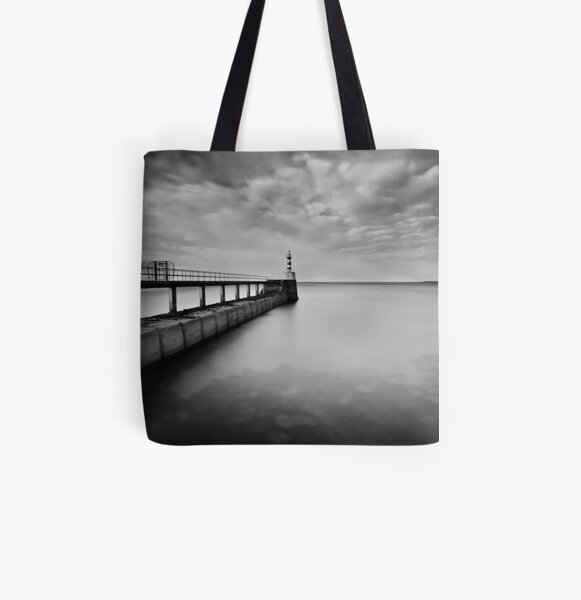 Long Pier All Over Print Tote Bag