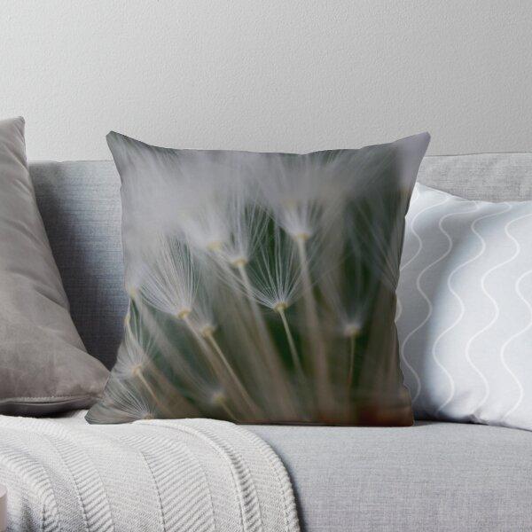 dandelion's secret 2 Throw Pillow