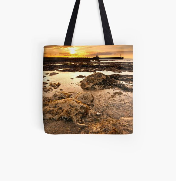 Twin Piers All Over Print Tote Bag