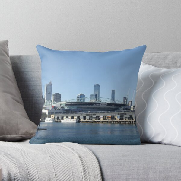 The City of Sport Throw Pillow