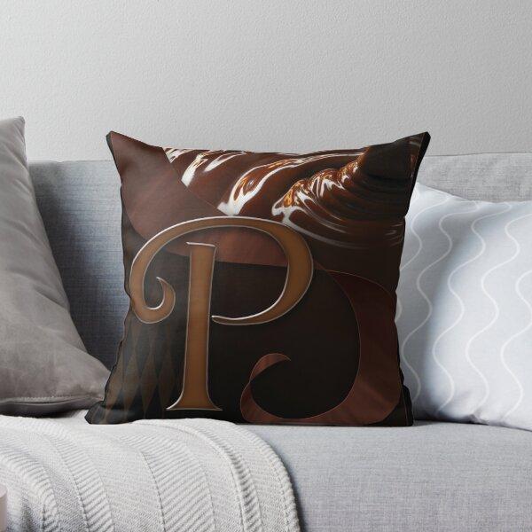 Perfect Chocolate Throw Pillow