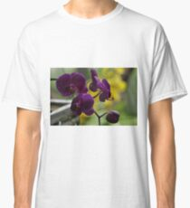 Purple Orchids, As Is Classic T-Shirt