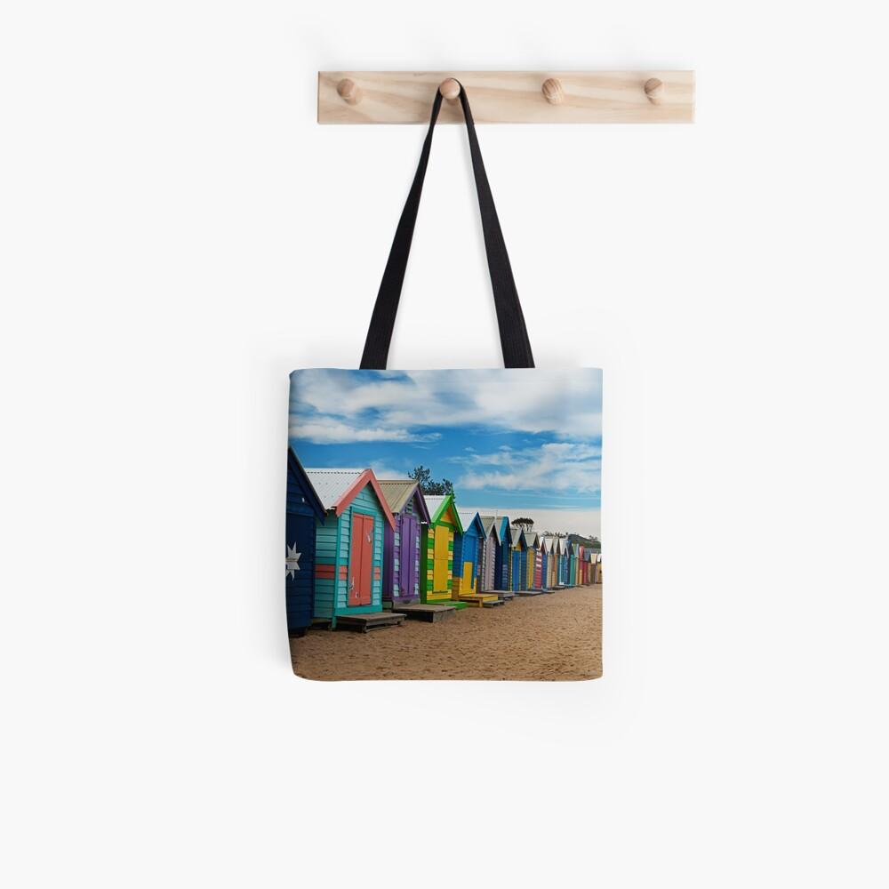 BRIGHTon Beach Boxes - Melbourne Tote Bag