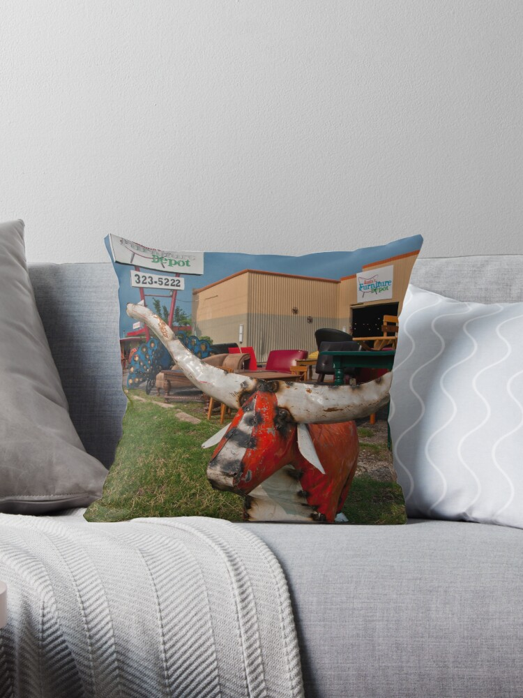 Introducing Austin Furniture Depot Throw Pillows By Roschetzky