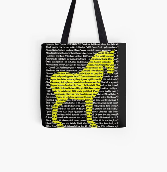 """The Year Of The Horse"" Cards All Over Print Tote Bag"