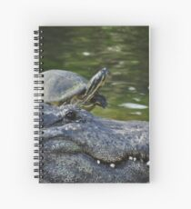 Alligator and Turtle, As Is Spiral Notebook