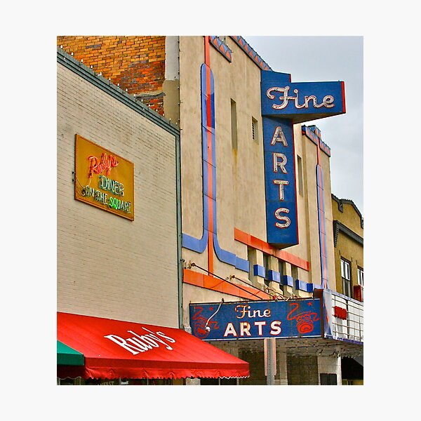 Downtown Fine Arts Photographic Print