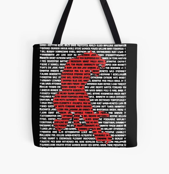 """""""The Year Of The Tiger"""" Cards All Over Print Tote Bag"""