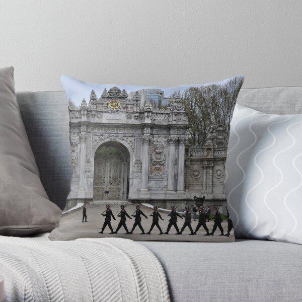 Palace Security Throw Pillow