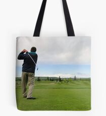 Golf Swing C Tote Bag