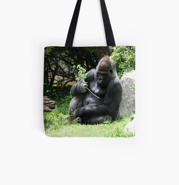 Gorilla All Over Print Tote Bag