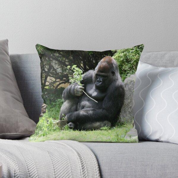 Gorilla Throw Pillow