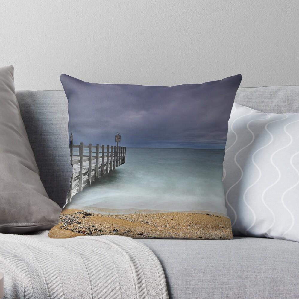 Approaching Storm - Mentone Throw Pillow