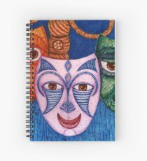 The joy, the anger and the fear  Spiral Notebook