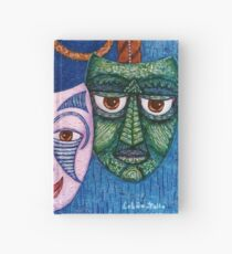 The joy, the anger and the fear  Hardcover Journal