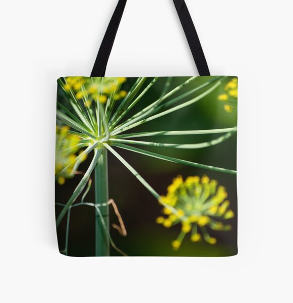 Dill Burst All Over Print Tote Bag
