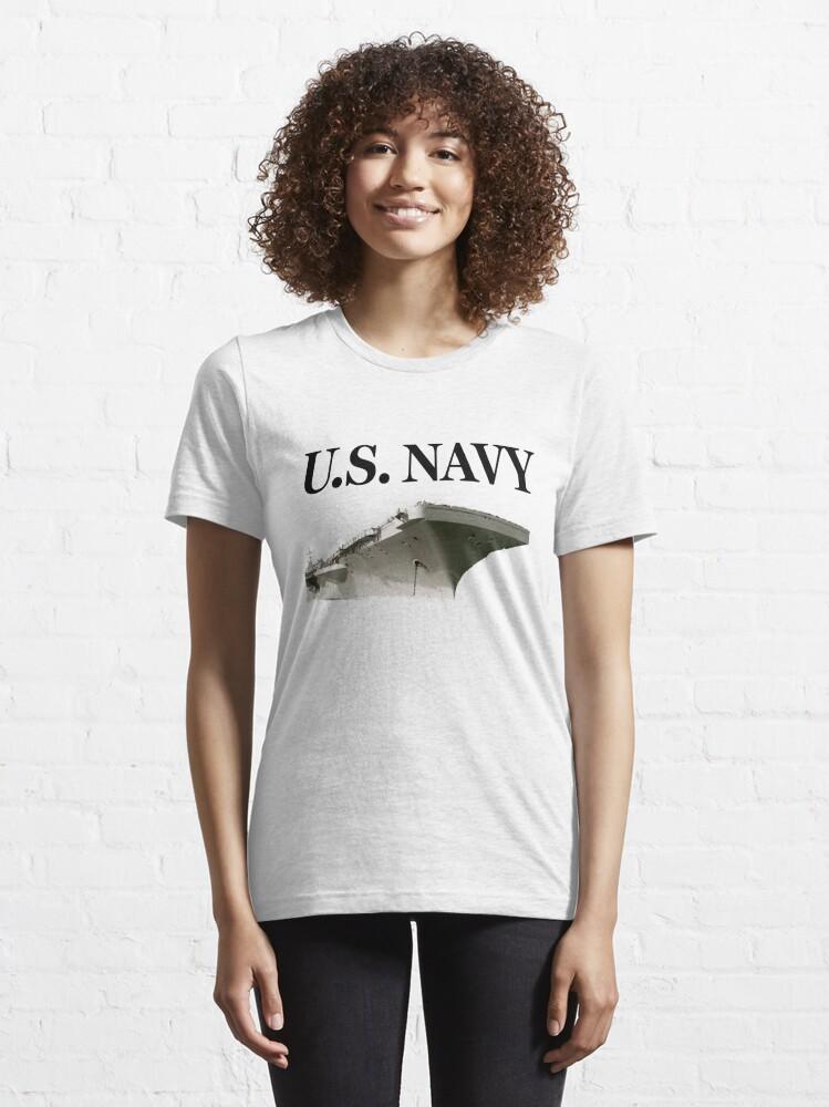 Alternate view of U.S. Navy - Aircraft Carrier Essential T-Shirt