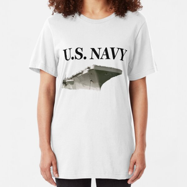 U.S. Navy - Aircraft Carrier Slim Fit T-Shirt
