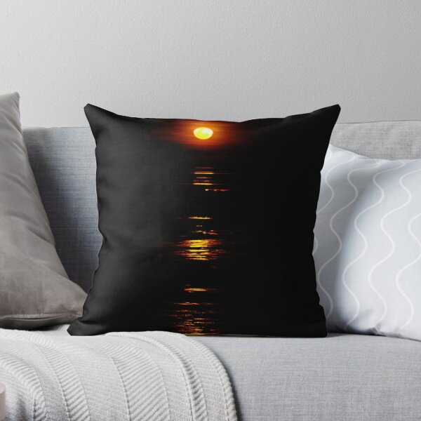 Stairway to the Moon, Broome, WA Throw Pillow