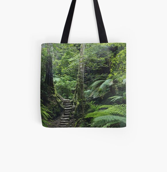 The Fernery, Grand Canyon. All Over Print Tote Bag