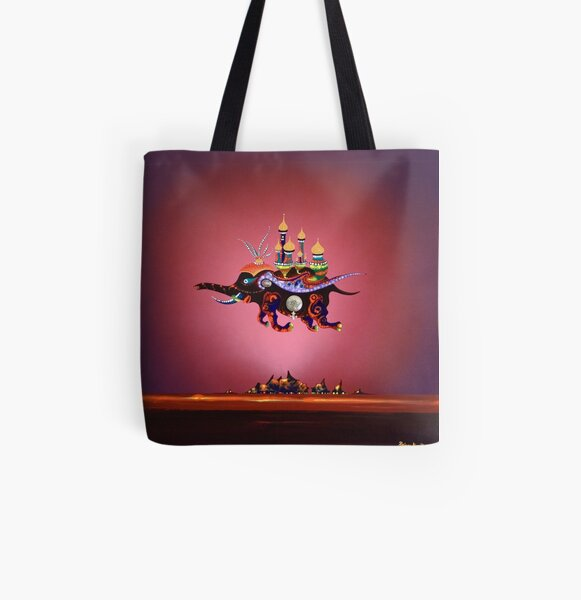 Adamus Schnuller - Chief Castle Merchant All Over Print Tote Bag