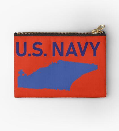U.S. Navy - Aircraft Carrier - Navy Zipper Pouch