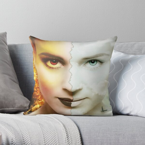 Dissembling - Welcome to the Dark Side Throw Pillow
