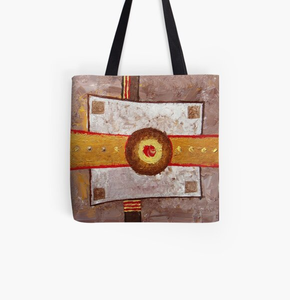 """Composition 3"" All Over Print Tote Bag"
