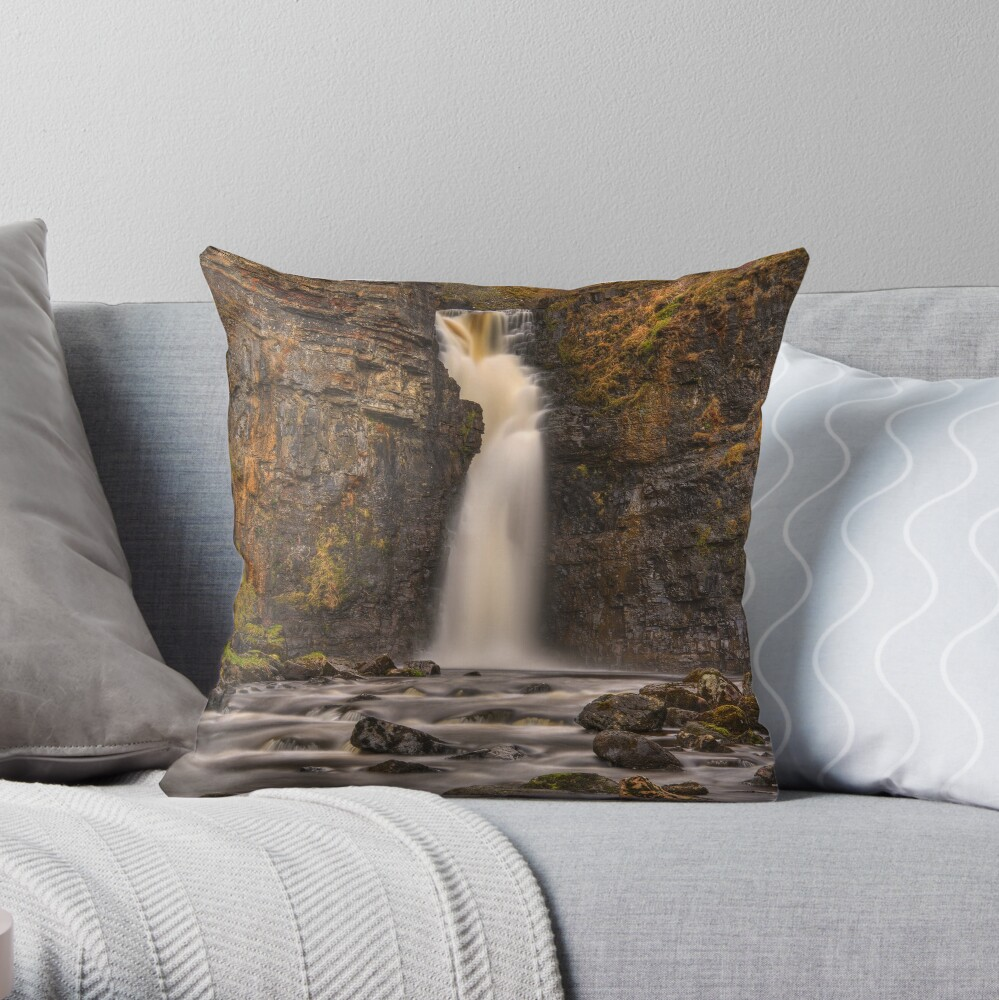 Lealt Falls (1) Throw Pillow