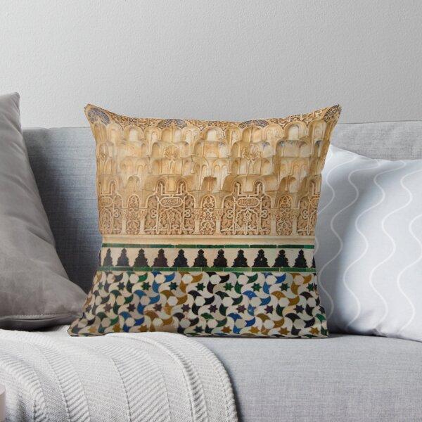 Alhambra detail 3 Throw Pillow