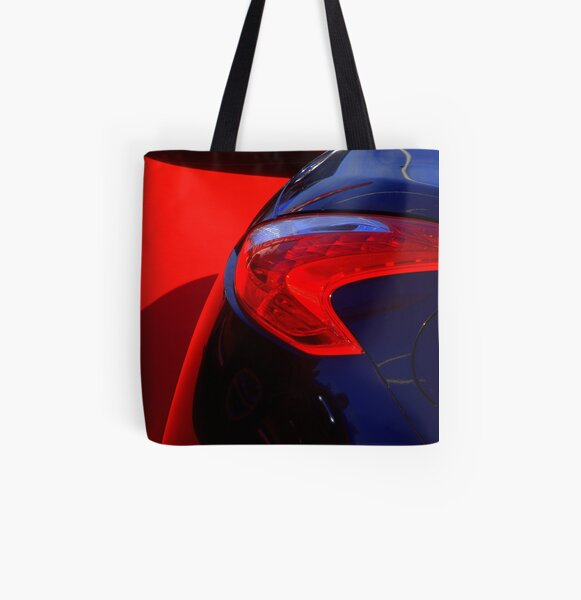 Car touch 2 All Over Print Tote Bag