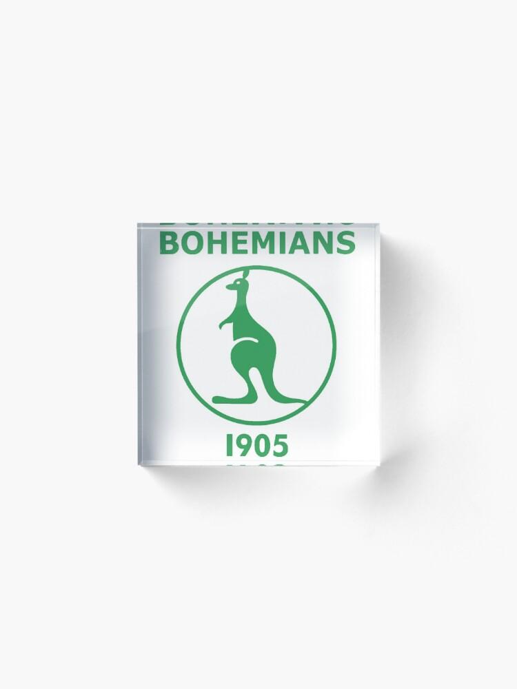 Alternate view of Bohemians 1905, from Prague Acrylic Block