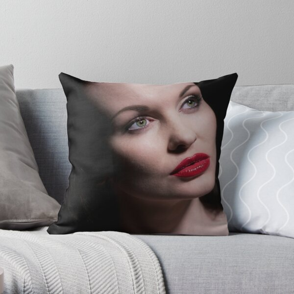 AnneD Portrait 2011 Throw Pillow