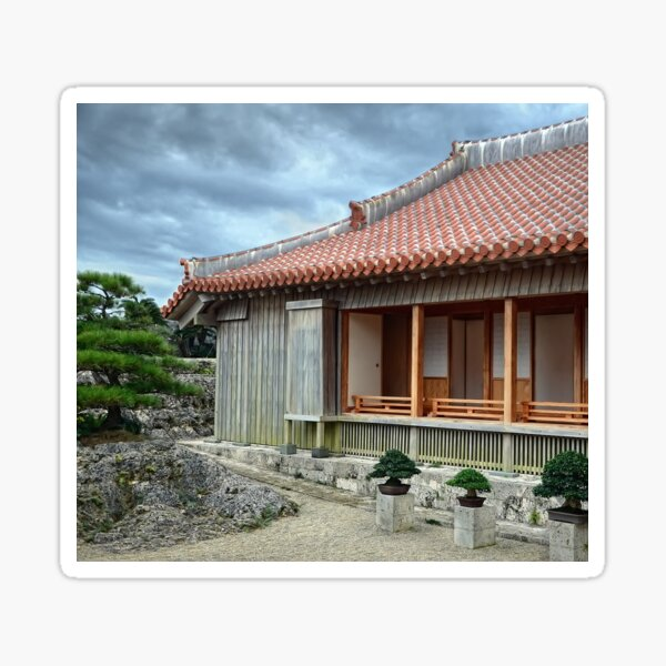 Japanese House Sticker