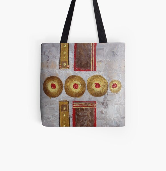"""""""Composition 1"""" All Over Print Tote Bag"""
