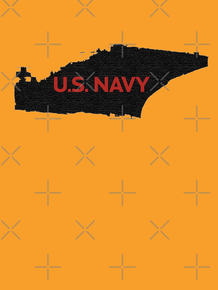 U.S. Navy - Aircraft Carrier - Orange Text by willpate