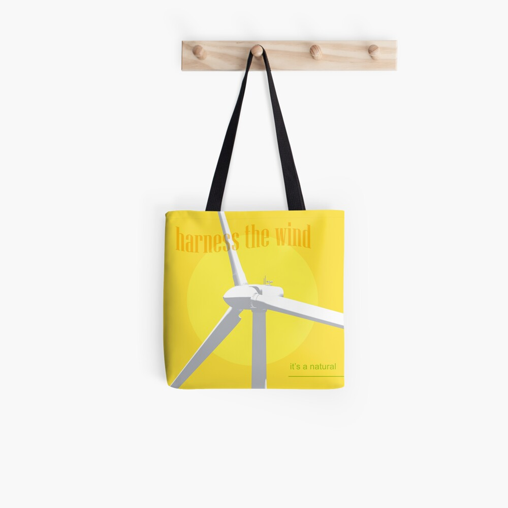 Harness The Wind Stofftasche